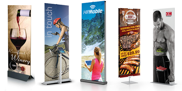banner stands and retractable banner