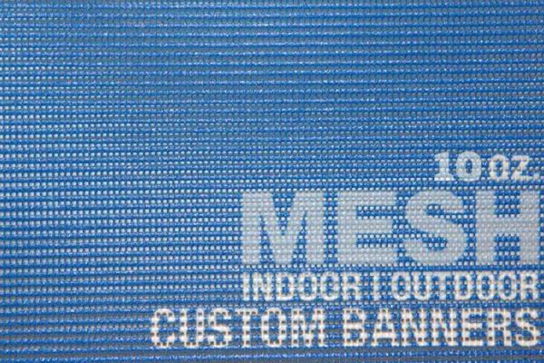 10oz vinyl mesh banners wind resistance