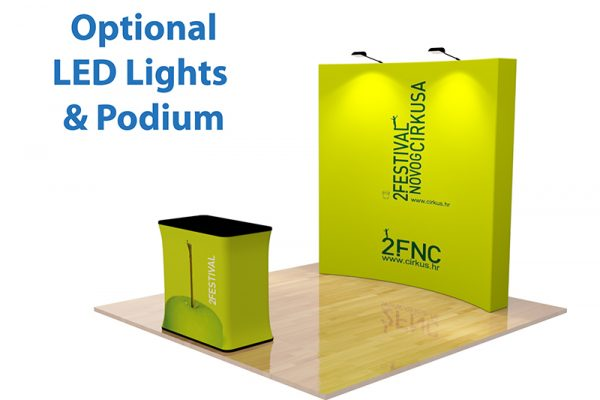 curved velcro popup display 07