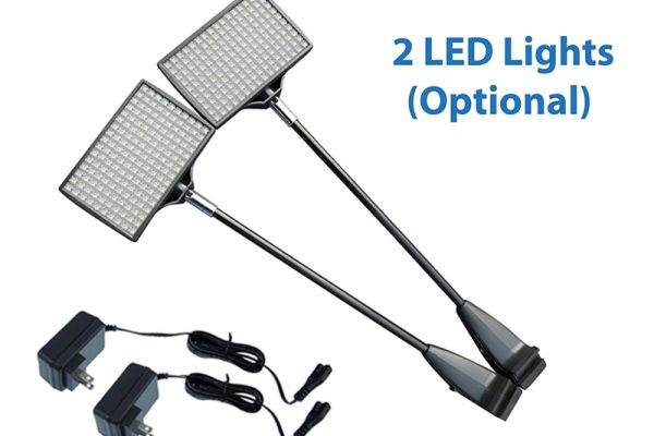 led lights for trade booth displays