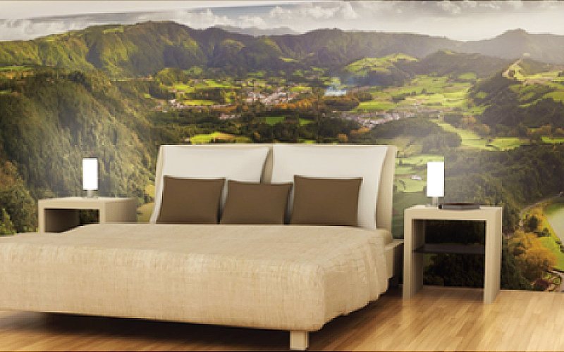 pvc-free wallpaper large format printing