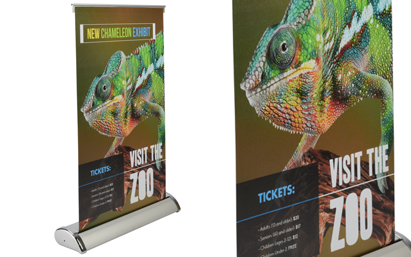 table-top popup stands