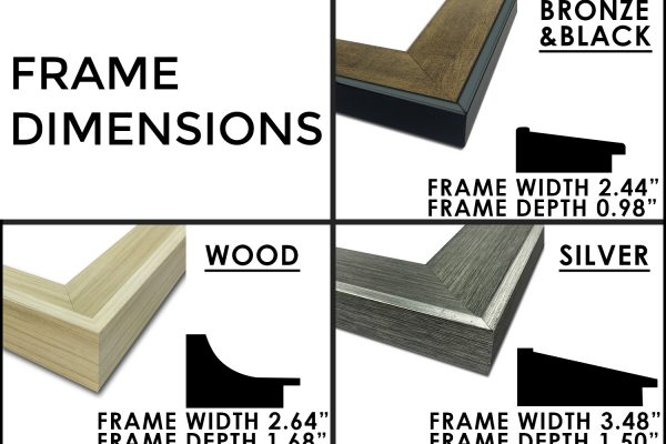 frames print frame dimensions