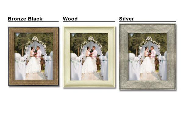 frames print frame options bronze wood silver