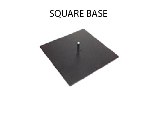ad flag square base